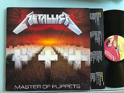LP UK 1986 NM M  Metallica ‎– Master Of Puppets Label: Music For Nations ‎– MFN