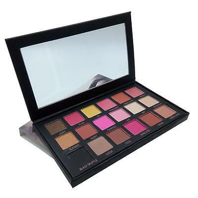 Eyeshadow Palette 18 Colors Shimmer Matte Eye Shadow Warm Pro Cosmetic Makeup BF