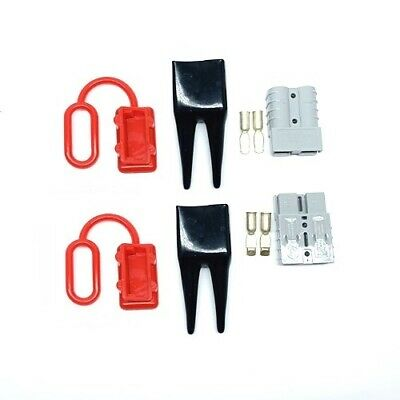 Anderson Sb50 Amp Power Connector Jump Lead Starter Kit Battery Slave Assist