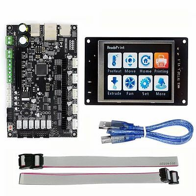 """3.2"""" Colorful LCD TouchScreen+MKS SBASE V1.3 Controller Board for 3D Printer"""