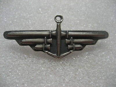 Poland Polish NAVY Badge Naval Pilot Wings.