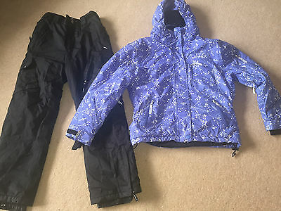 Girls Aloha Technical Ski Snowboard Suit Age 12-13 Good Condition