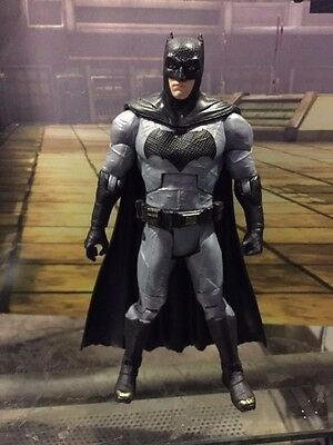 "Mattel DC Comics Multiverse Dawn of Justice BATMAN 6"" figure plastic cape"