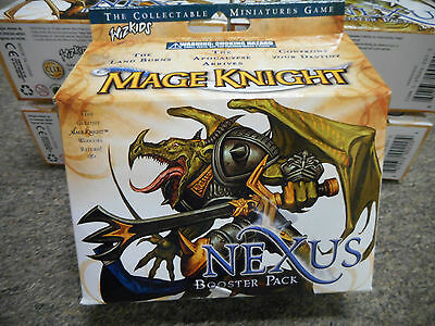 1 Mage Knight 2.0 SEALED booster PACK Nexus miniature AD D dungeons dragons MIB