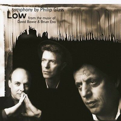 Philip Glass Low Symphony New Sealed 180G Lp In Stock David Bowie Brian Eno
