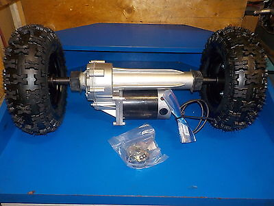 Electric Transaxle 800 Watt Heavy Duty With Tires 24 Volt And Speed Controller