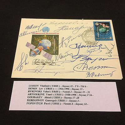 £££ Espace / Space - cover signed a lot of autographs ! really Rare