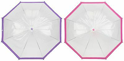 Drizzles Childs Clear Domed Clear Umbrella