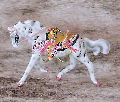 """TRAIL OF PAINTED PONIES Tickled Pink 2016 Ornament~2.25"""" Tall~Inspiration/Music~"""