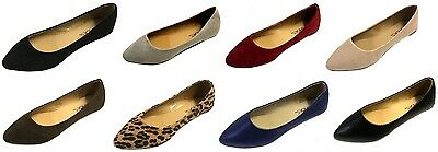 Shoes 18 Womens Pointy Toe Ballet Flats Shoes