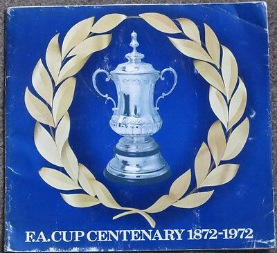 100% Complete Set Of Fa Cup Centenary 1872 - 1972 Esso Coins.