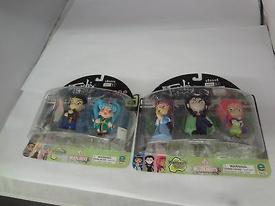 Tenchi Muyo Series one and two toonami cartoon network action figures NIB G-410