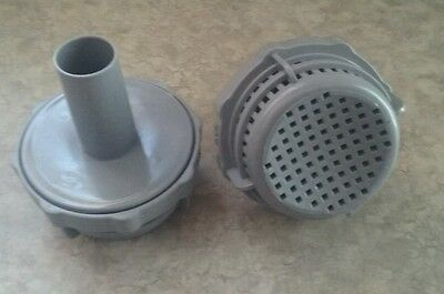 New Genuine Bestway Parts Pool Strainer Pump Filter Wall Fitting 1""