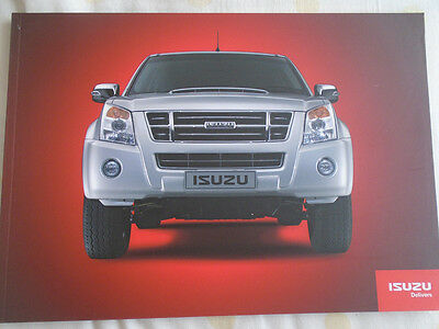 Isuzu Truck range brochure 2009 South African market KB Series