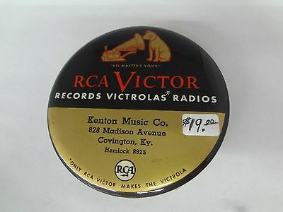 Vintage RCA Victor Victrola Record Cleaner KENTON MUSIC CO. COVINGTON, KY. G-412