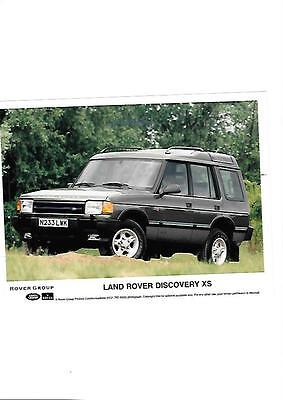 Land Rover Discovery Xs Original Press Photo 'brochure Connected'