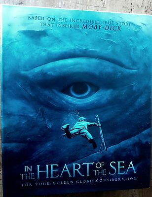 In The Heart Of The Sea Script Promo Deluxe Box Fyc Press Kit Limited Edition 1