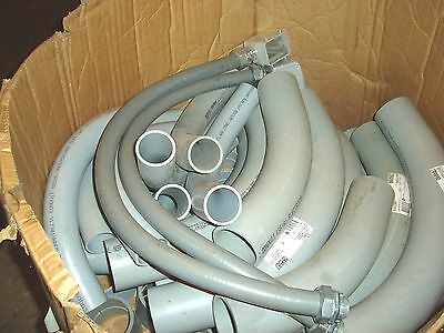 """Many 3""""& 2"""" Pvc Elbows, Couplings,  Parts Large Electrical Conduit Installation"""