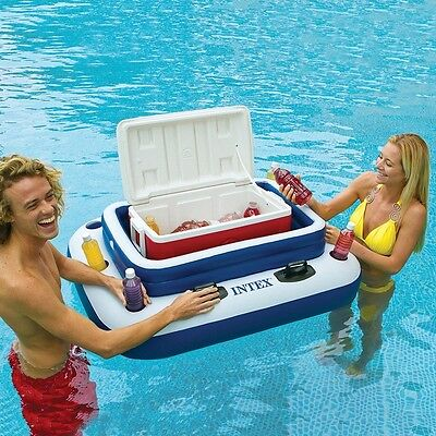 Intex Mega Chill II Inflatable Cooler - Pool float Party drinks ice tub - Perth