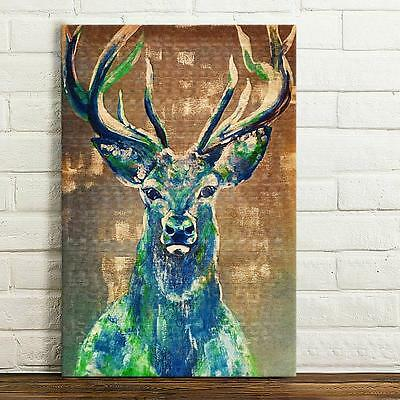 Modern HD Canvas Deer Animal Prints Wall Art Painting Picture Poster Unframed