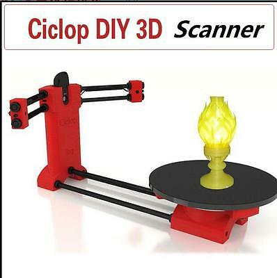 Ciclop Scanner Open Source DIY 3D Object Scaning Kit for Reprap Printer Scan
