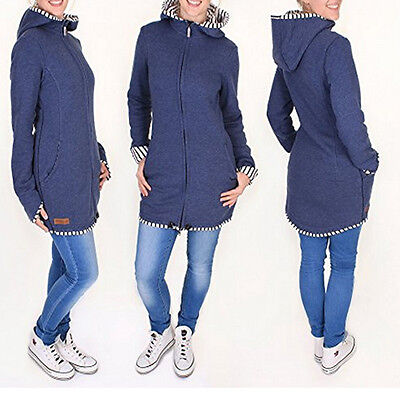 Jacket Kangaroo Winter Maternity Outerwear Coat Pregnant Womens Baby Carrier