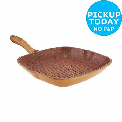Regis Copperstone 28cm Non-Stick Grill Pan. From the Official Argos Shop on ebay