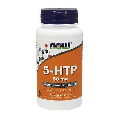 5-HTP,  50mg x 90VCaps, Now Foods, 24Hr Dispatch