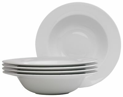 HOME Set of 4 Large Pasta Bowls - White. From the Official Argos Shop on ebay