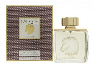 Lalique Pour Homme Equus Eau De Parfum 75Ml Spray - Men's For Him. New