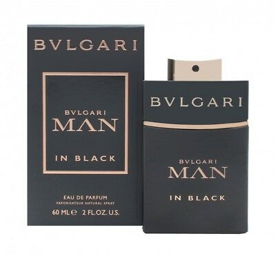 Bvlgari Man In Black Eau De Parfum 60Ml Spray - Men's For Him. New