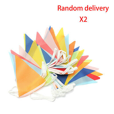Holiday Supplies 10 Meter Banner Bunting Pennant Flags Party Decoration