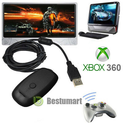 New WiFi USB Wireless Receiver Game Controller Adapter For Microsoft XBOX 360 PC