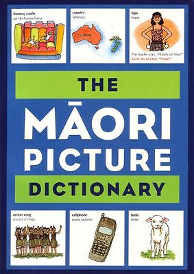 The Maori Picture Dictionary by Margaret Sincla - Paperback - NEW - Book