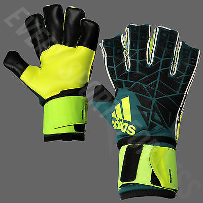 NEW Adidas Ace Trans Ultimate Goalkeeper Soccer Gloves-Green/Black Lists @ $180