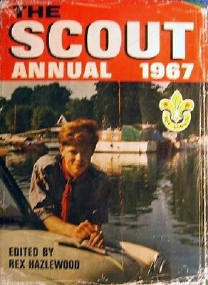 The Scout Annual 1967 by Hazlewood Rex - Book -  - Annuals - Boys