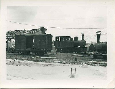 M447 RP 1950s RAILROAD ENGINES EGYPT