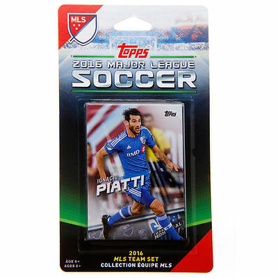 Montreal Impact Fanatics Authentic 2016 MLS Team Complete Set of Trading Cards -