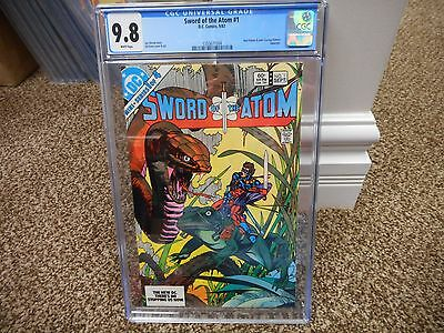 Sword of the Atom 1 cgc 9.8 DC 1983 WHITE pages Justice League of America movie