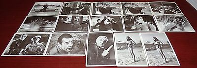James Bond 007 Thunderball 1966 Trading Card Lot Of 15 Sean Connery Gildrose