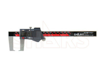"""SHARS Aventor 6"""" /150mm DPS IP54 Outside Groove Electronic Caliper DIN862 New"""