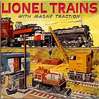 Lionel Train Manuals Service MANUAL Parts Catalogs Exploded Lists 1902-86 DVD