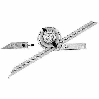 4 X 90 Degree Universal Dial Protractor Set (4901-0001)