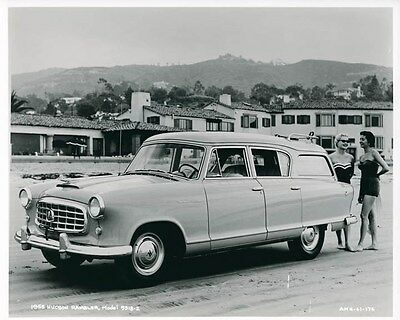 1955 Hudson Rambler ORIGINAL Factory Photo oae1405