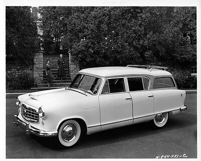 1955 Hudson Rambler ORIGINAL Factory Photo oae1434