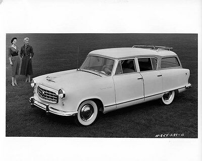 1955 Hudson Rambler ORIGINAL Factory Photo oae1436