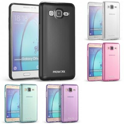 For Samsung Galaxy On5 PROWORX Premium TPU Rubber Slim-Grip Gel Case Cover