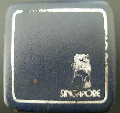 Singapore 1977 Silver $1 Proof with Original Box and Certificate of Authenticity