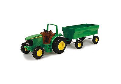 John Deere Tractor and Wagon Toy by Ertl - TBEK37163