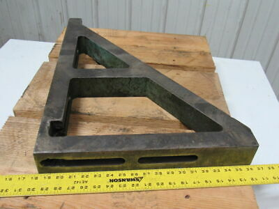"26""x18""x2-3/4"" Slotted 90° Angle Block Machinist Set Up Fixture"